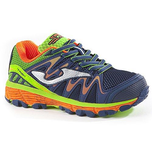 Joma J _ trekw _ 703Scarpe Junior J. Trek Jr 703azul marino zapatos otoño invierno running, Marino Marino