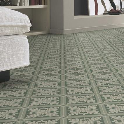 Berühmt Moroccan Tile Effect Sheet Cushion Vinyl Flooring Lino PH56