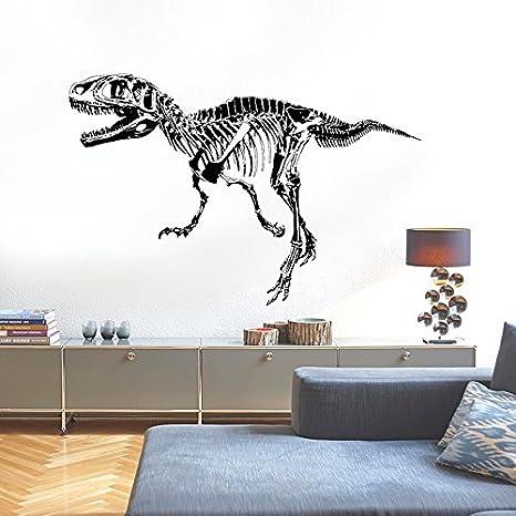 Wandsticker Dinosaurier schwarz Wandtattoo Wandbilder für Deko ...