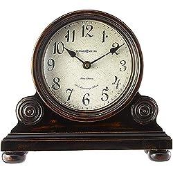 Howard Miller Murray Mantel Clock 635-150 - Vintage Design with Quartz, Triple-Chime Movement
