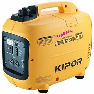 Kipor 67341 IG2000P-CETL 2,000 Watt Parallel-Ready Inverter Generator