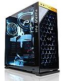 CYBERPOWERPC GAMER SUPREME LIQUID COOL SLC9800 W/ AMD FX-9590 4.7GHZ CPU, 16GB DDR3, AMD RX 480 4GB, 2TB HDD, 240GB SSD, 24X DVD+-RW & WIN 10 HOME 64-BIT