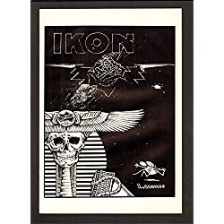 """IKON 1 9.4 NM 1989 STANLEY """"MOUSE"""" MILLER SELF PUBLISHED WHITE PAPER HIGH GRADE"""
