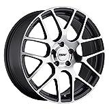 18 Inch 18x10.5 TSW wheels NURBURING Gunmetal wheels rims
