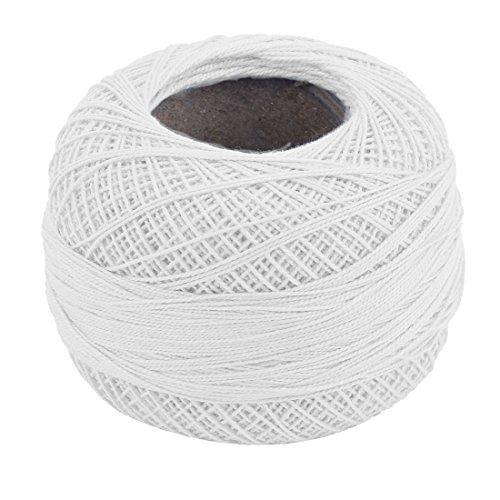 Sewing Weaving Cup Yarn Knitting White 50g White Blends Mat Dress Cotton Towel uxcell Family Socks zHa8qa