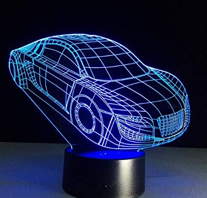 Amazon Com Blue Stones 7 Colors Visual Racing Sports Car Modeling