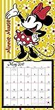 Minnie Mouse Wall Calendar (2017)