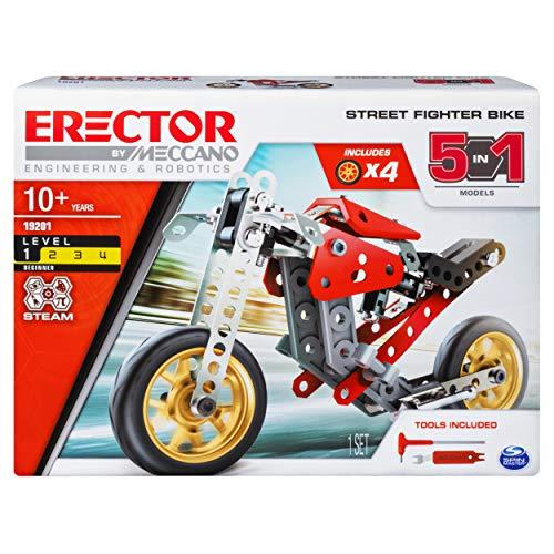 Meccano Erector 5 In 1 Street Fighter Tiendamia Com