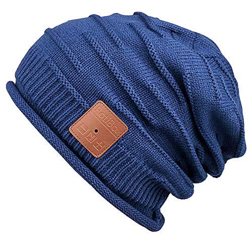 Mydeal Winter Unisex Bluetooth Beanie Hat Warm Skully Cap w Wireless  Headphone Headset Earphone Stereo d3e445950b1
