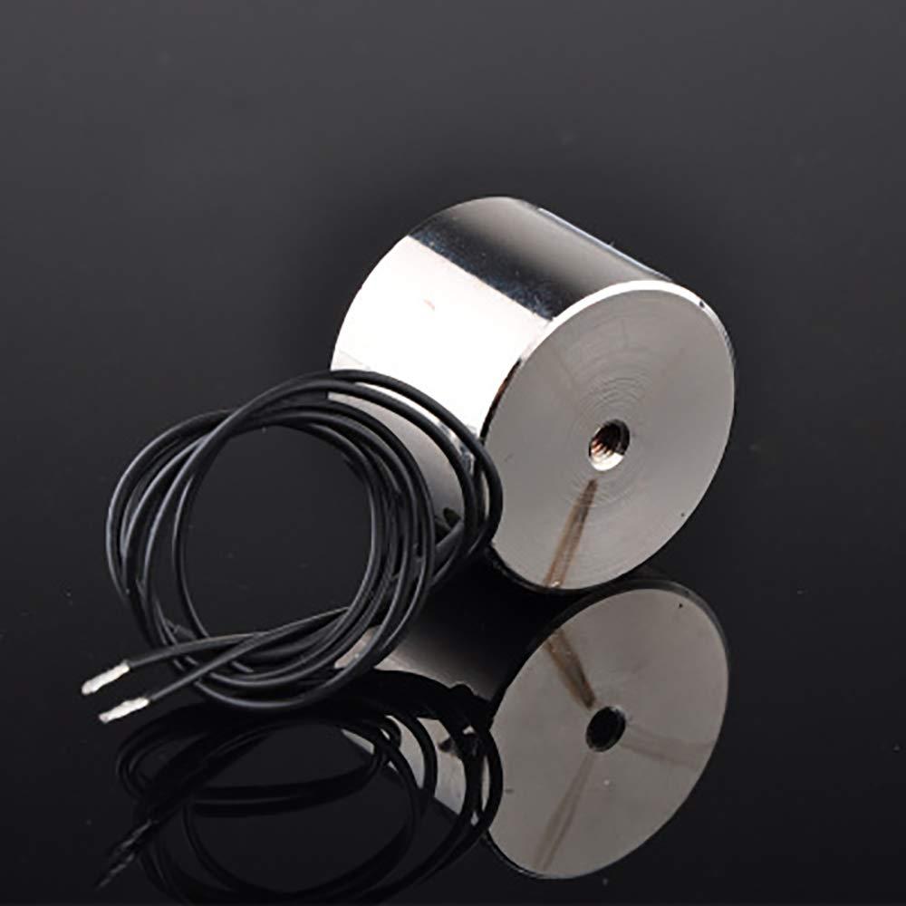 der den Elektromagneten h/ält Vipithy 5V DC 8kg Elektrischer Hubmagnet Elektromagnetischer Hub