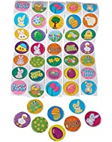 Lot Of 500 Assorted Easter Theme Stickers
