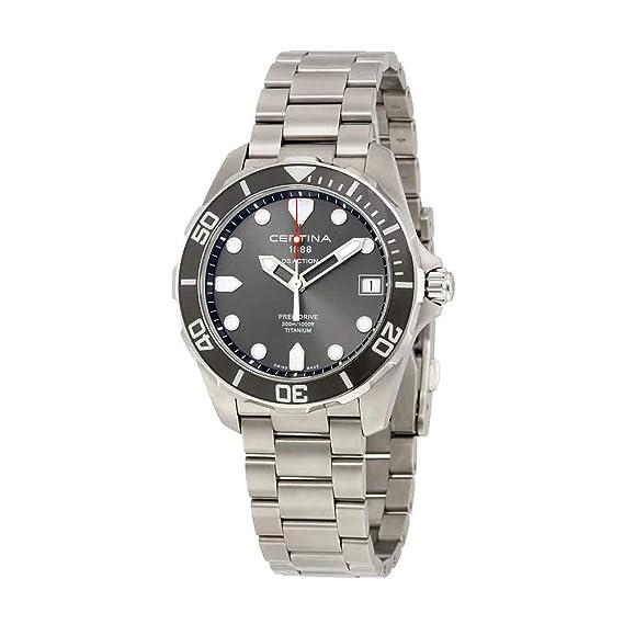 Certina DS Action C032.410.44.081.00 Reloj para hombres Carcasa de Titanio: Amazon.es: Relojes