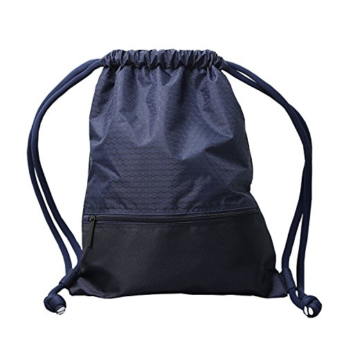 Basketball Design Waterproof Drawstring Bag - 1