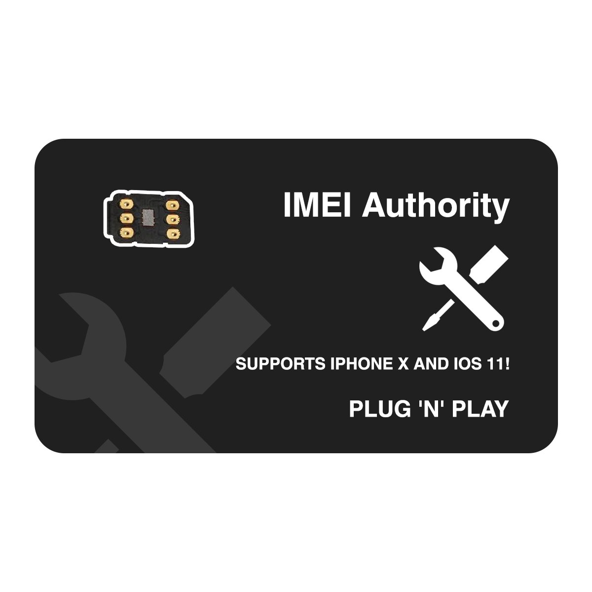 IA Sim Unlock Adapter for iPhone X 8+ 8 7+ 7 6S+ 6S 6 5C 5S - Any Carrier -  AT&T, Verizon, Sprint, T-Mobile, XFINITY, GSM or CDMA GPP TURBO GEVEY AIR