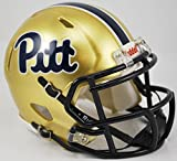 PITTSBURGH PANTHERS NCAA Riddell Revolution SPEED Mini Football Helmet PITT (SCRIPT)