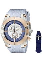 MULCO Women's MW5-3069-423 Kripton Snap Analog Display Swiss Quartz Blue Watch