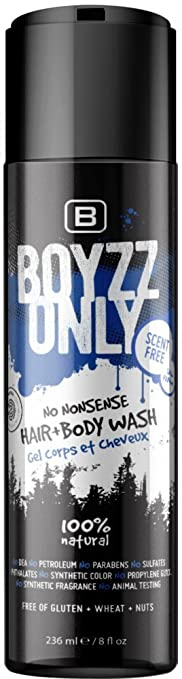 Boyzz Only No Nonsense Hair and Body Wash(Unscented)