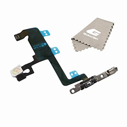 sneakers for cheap 8f98d f71a2 Switch On/Off Power Button Cable Replacement Part with Flashlight Flex  Cable for iPhone 6