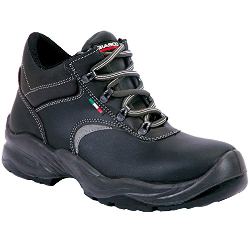 Giasco AC068D37 Cambridge Bottes à lacets S3 Taille 37 Noir