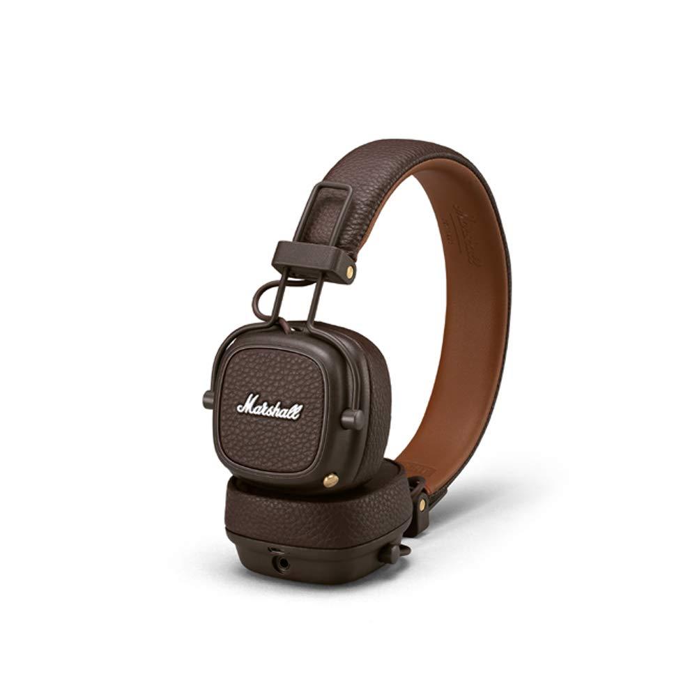 Marshall Major III Bluetooth Foldable Headphones – Brown