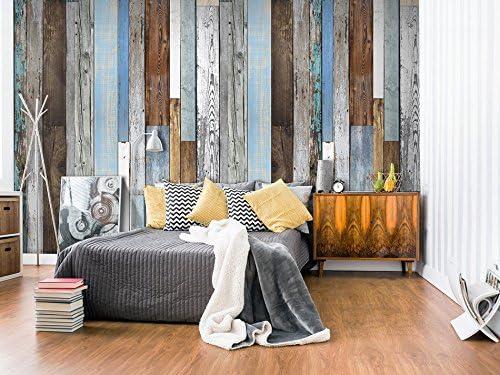 Papier peint intiss/é Papier peint 10m Bois f-C-0016-j-a PURO Panneau d/écoratif Hit Photo sur le mur XXL