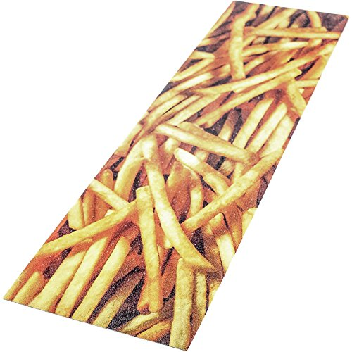"""Trouble Skateboards Fries 9""""x33"""" Grip Tape for Skateboard   Bubble Free & Easy to Apply since 1996 (TG13) by Trouble Skateboards"""