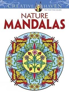 Creative Haven Nature Mandalas Coloring Book Books