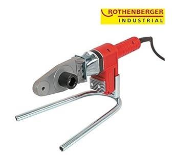 ROTHENBERGER Industrial Muffenschweißgerät als 10 teiliges Set im Transportkoffer - 650 Watt; Arbeitstemperatur: 260