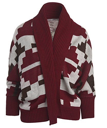woolrich-womens-harvest-cardigan-wine-multi-x-large