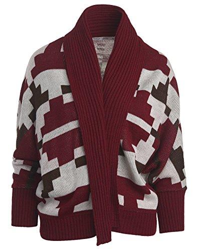 woolrich-womens-harvest-cardigan-wine-multi-x-large