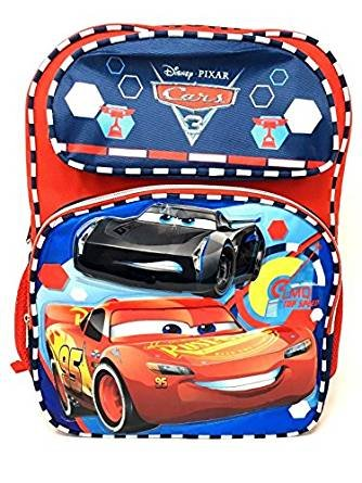 6b3db6e0715 Image Unavailable. Image not available for. Color  Disney Pixar Cars 3 Boys  16 quot  School Backpack -LMQ Top Speed Lightning Mcqueen