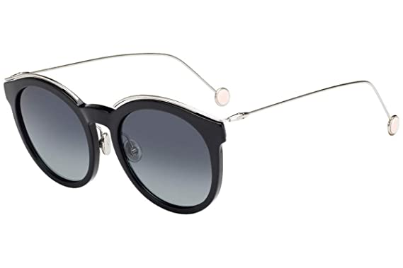 f2aa67463c15 Image Unavailable. Image not available for. Color  Christian Dior  DiorBlossom Sunglasses Black Palladium w Grey Gradient ...