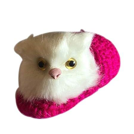 Neborn - Peluche con forma de gato para simular el sonido ...