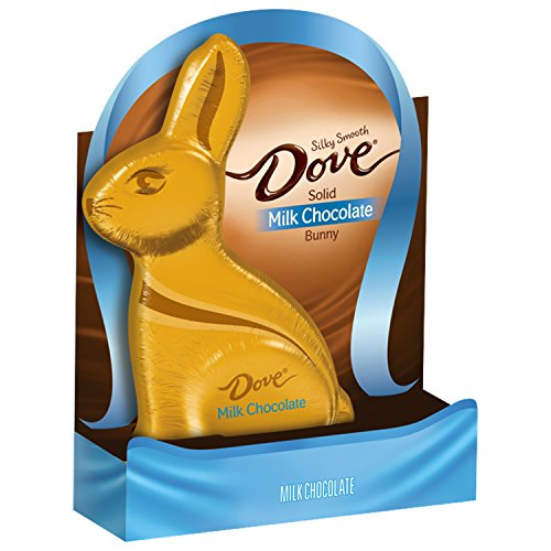 Dove Milk Chocolate Candy Solid Easter Bunny Box, 4.5 - Milk Chocolate Solid Box Gift