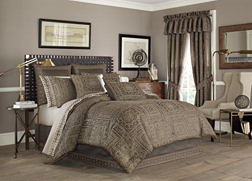 Five Queens Court Warwick 4-Piece Comforter Set, King Size