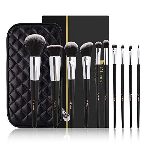 DUcare Makeup Brushes Set 10Pcs Professional Makeup Brushes with Cases Women Gift Premium Synthetic Kabuki Foundation…