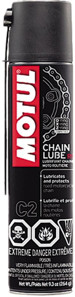 Motul Motorcycle on road chain lube c2 400 ml 9.3 Ounce Can B00GUL675A