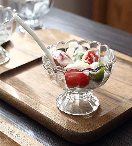 Avora Ice Cream Bowls, Salad Dessert Serving Bowls, Tableware Set, 120 ml, Crystal Clear (6) Price & Reviews