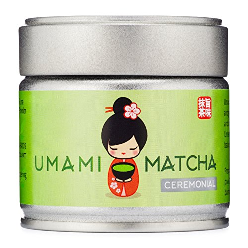UMAMI MATCHA | Ceremonial Matcha Green Tea Powder | Authentic Premium Grade Japanese Matcha Tea | Pure 1st Harvest | 100% All Natural From Japan (1oz/30g tin) by UMAMI MATCHA