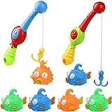 Nuheby Juguete Baño Bebe Juguetes Baño Juguetes de Animales Juego de Pesca Juguetes de Agua Flotantes Juguetes para Agua Piscina Baño