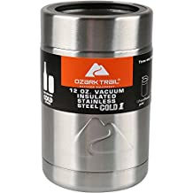Ozark Trail 12 Ounce Double Wall Can Cooler Cup With Silver Lid