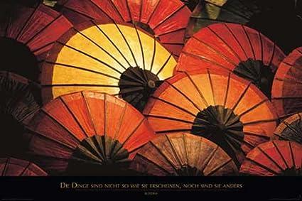 Empire 157492 - Póster de paraguas japoneses (91,5 x 61 cm)
