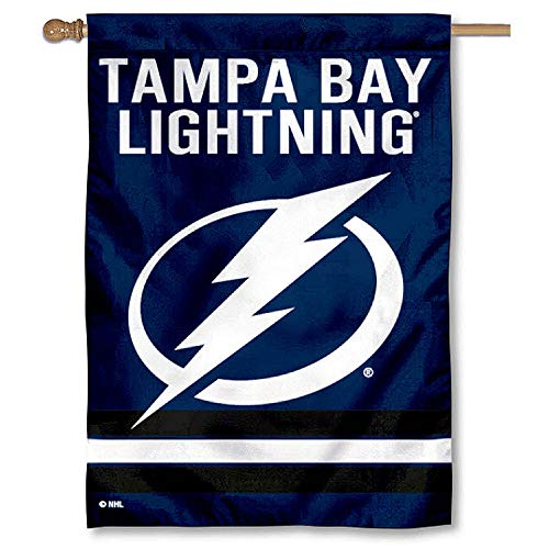 Bay Wincraft Tampa (WinCraft Tampa Bay Lightning Two Sided House Flag)