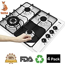MOSA Stove Burner Cover Square. Best Tool to Protect Stove Range From Daily Cooking Mess. Gift for Woman, Daughter, Couples, Girls. Wedding Present for Groom and Pride. Washable for Many Times.