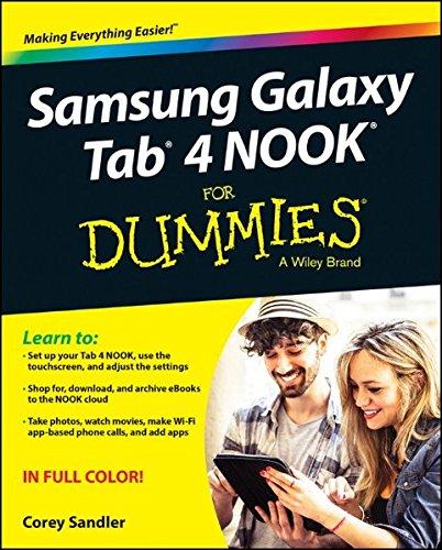 Buy Samsung Galaxy Tab 4 NOOK For Dummies (For Dummies Series) Book