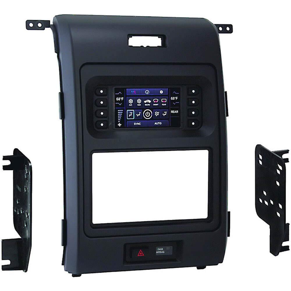 Metra 99-5846B Ford F150 HVAC Kit, 2013-14 W 4.2'' LCD, I/DD