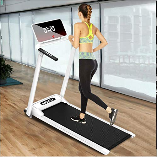 Electric Folding Treadmill | Motorized Portable Pad Treadmills Walking Jogging Running Exercise Fitness Machine w…