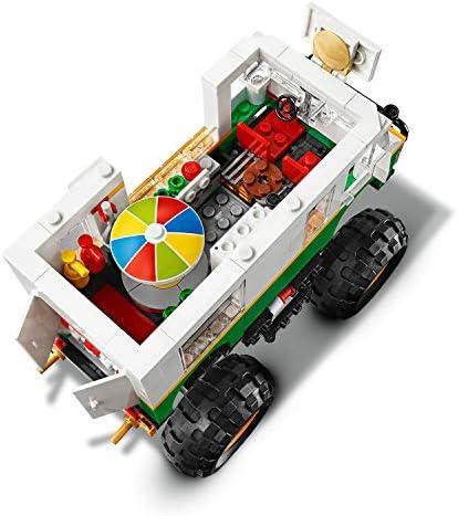 LEGO 31104 Creator 3-in-1 Burger-Monster-Truck - Geländewagen - Traktor