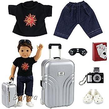 Amazon.com: Barwa Boy Doll Clothes Lot 7 items = Clothes ...