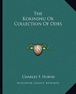 kokinshu a collection of poems ancient and modern c t asian  the kokinshu or collection of odes